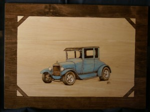 Hot Rod Woodburning