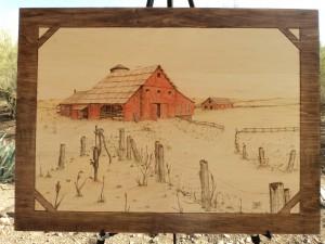 The Barn Woodburning